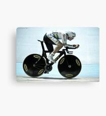 Rohan Dennis 2011 Apeldoorn World Track Championships Canvas Print