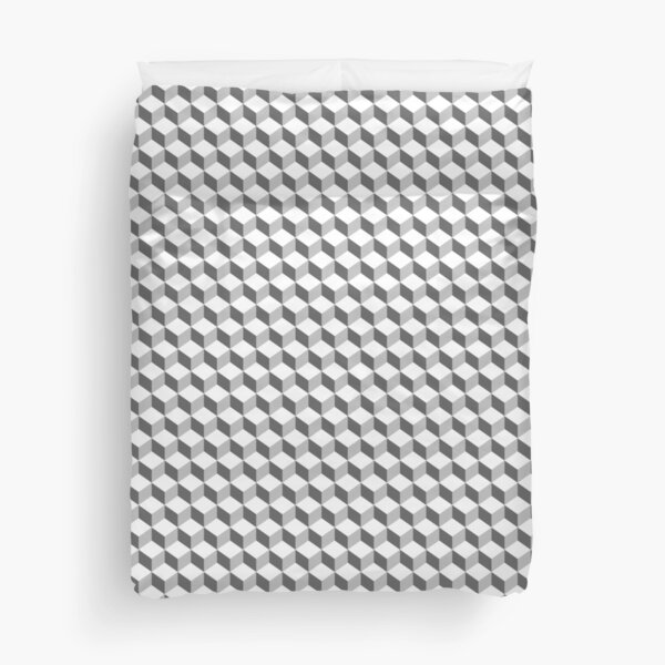 Optical illusion Texture Duvet Cover
