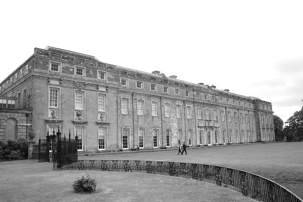West Front - Petworth House by Dave Godden