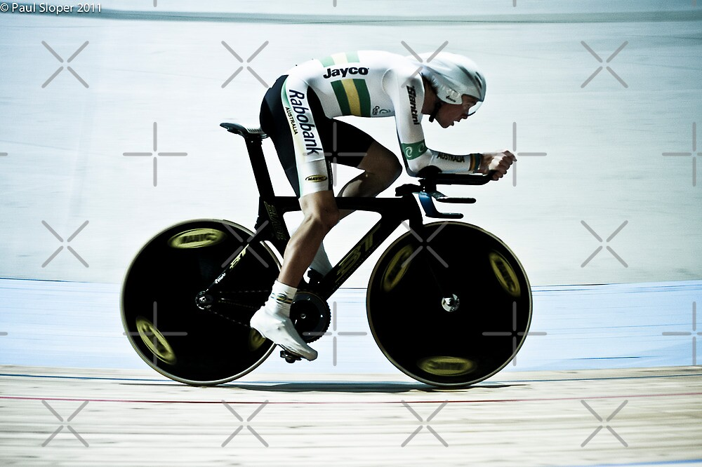 Rohan Dennis 2011 Apeldoorn World Track Championship by Paul  Sloper