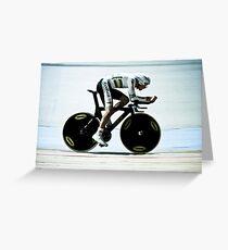 Rohan Dennis 2011 Apeldoorn World Track Championship Greeting Card