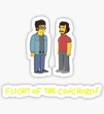 Flight of the Simpsons Sticker