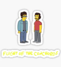 Flight of the Simpsons Sticker