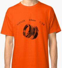 Nikkor 28mm Black Classic T-Shirt