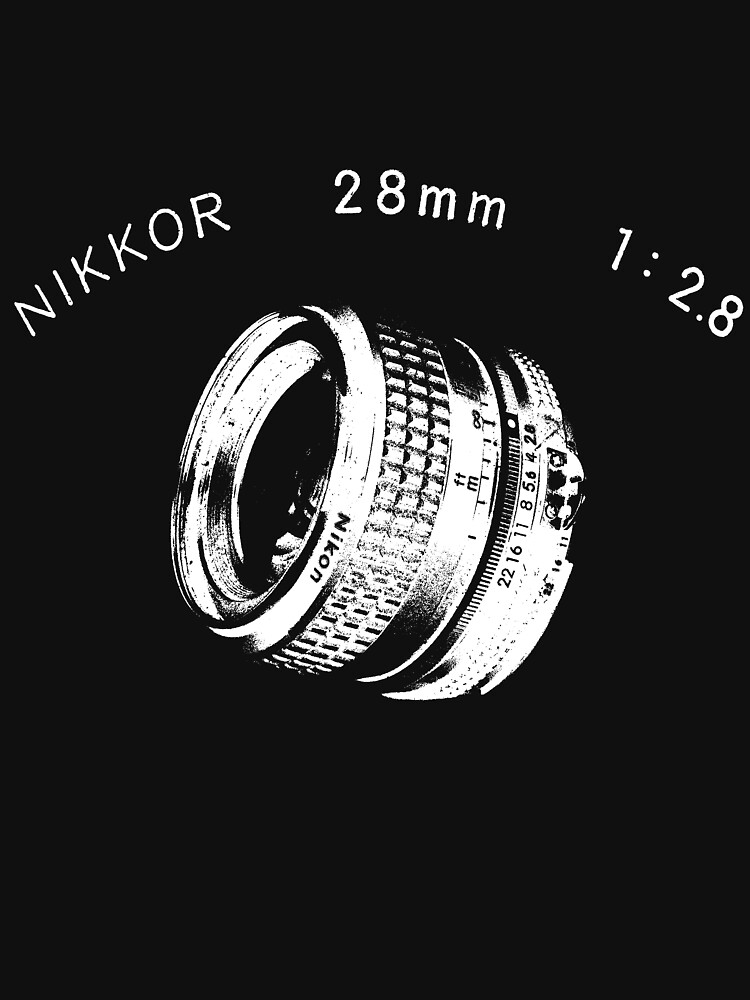 Nikkor 28mm White by BKSPicture