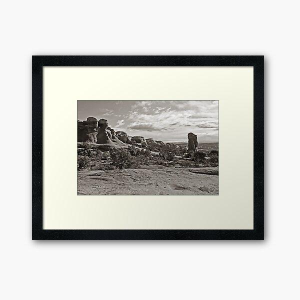 Reveille Framed Art Print