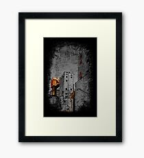 This Corrosion Framed Print
