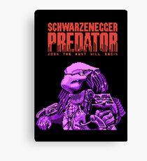NES Predator: Predator Edition Canvas Print