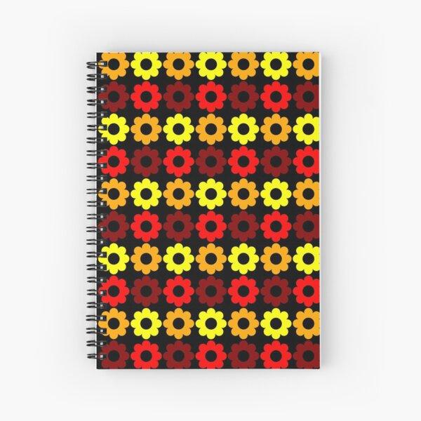 Retroflower Spiralblock