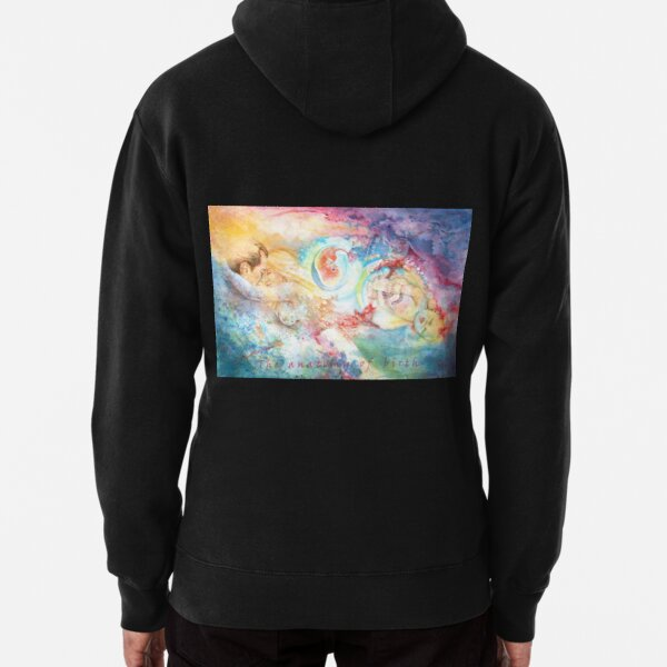The Anatomy of Birth Pullover Hoodie