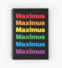 Maximus Pride Myself Spiral Notebook