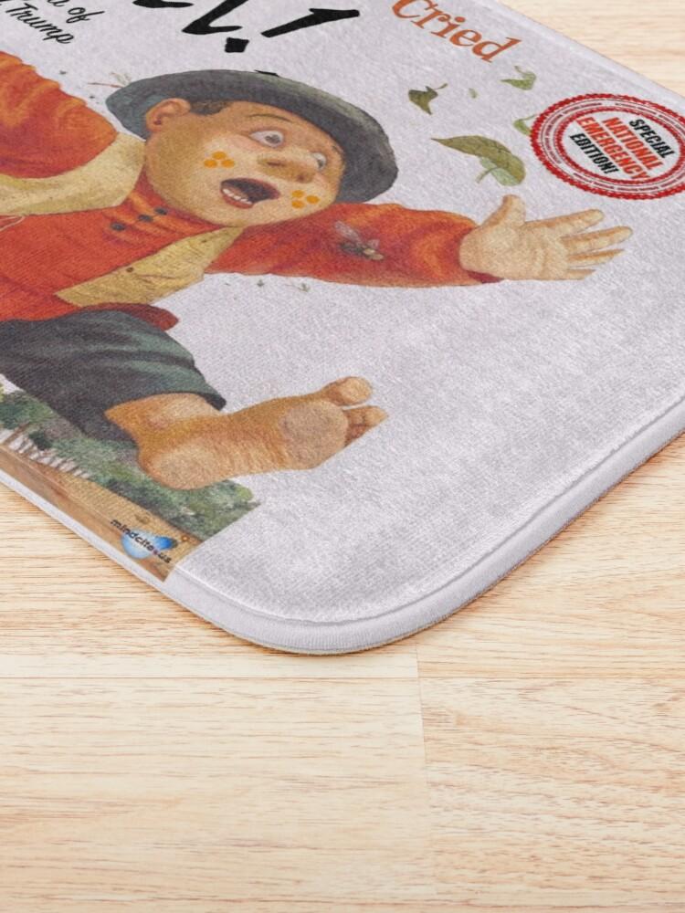 Alternate view of The Boy Who Cried Wall!  Bath Mat