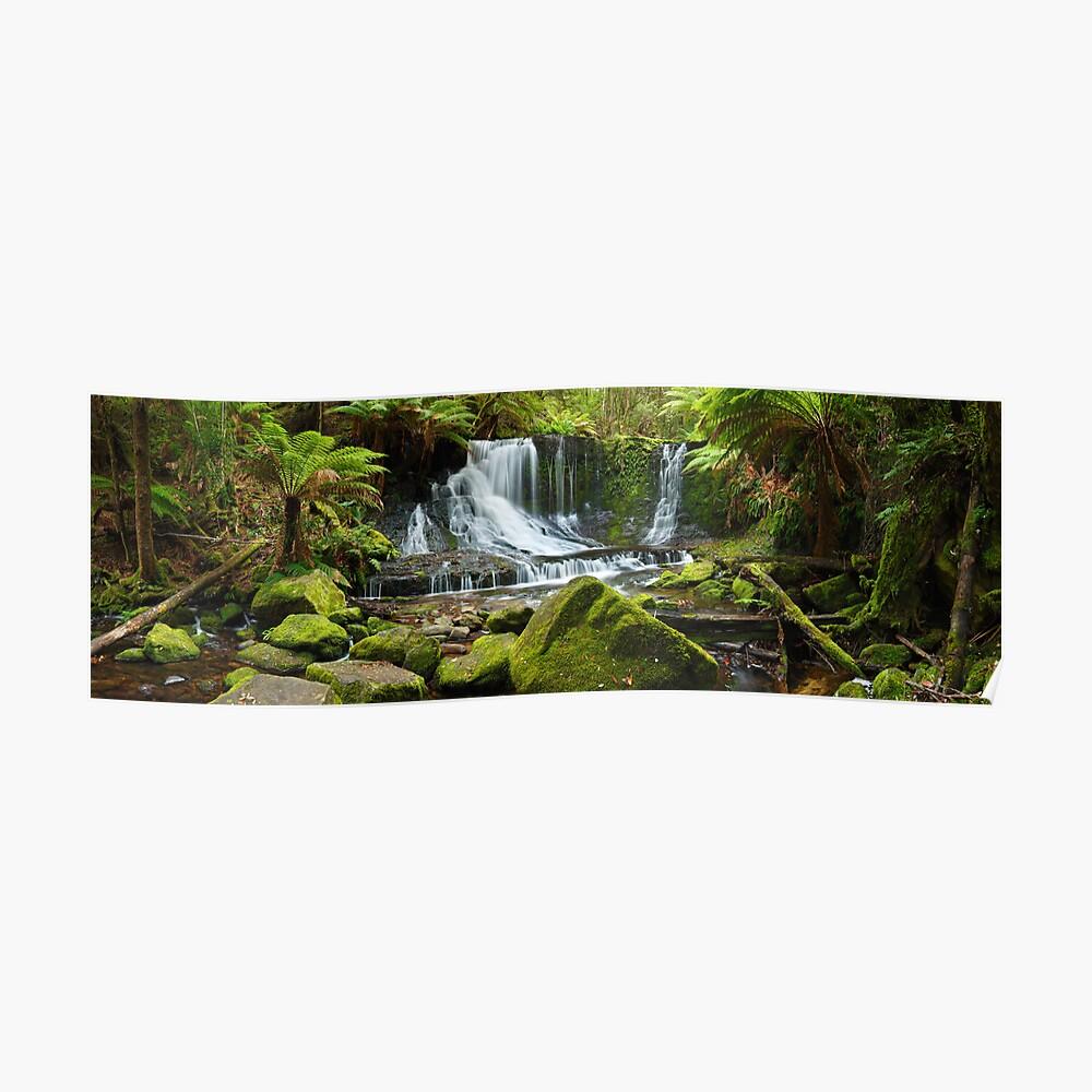 Horseshoe Falls, Mt Field National Park, Australia Poster