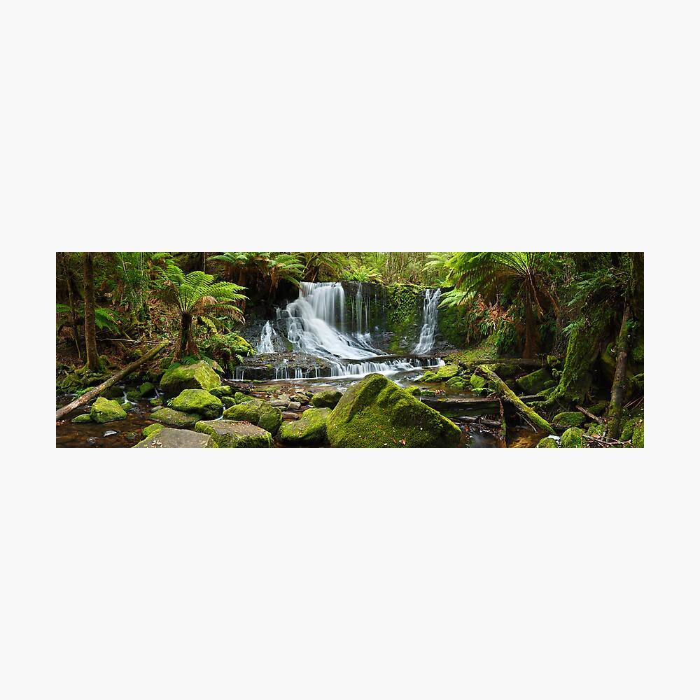 Horseshoe Falls, Mt Field National Park, Australia Photographic Print