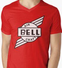 Bell Aircraft Company Retro Logo Men's V-Neck T-Shirt