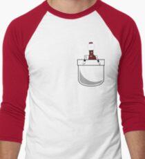 Mystery Science Tom Men's Baseball ¾ T-Shirt