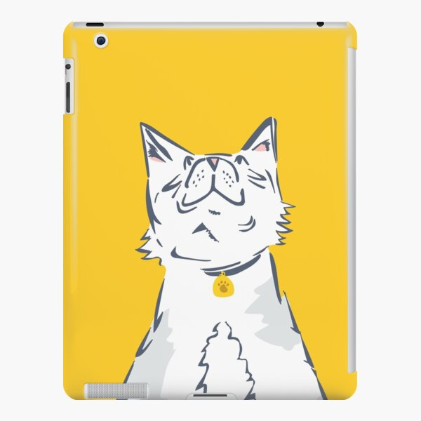 Dinner Time Cat iPad Snap Case