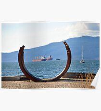 English Bay, BC Poster