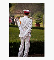 Ho Chi Minh Guard Photographic Print