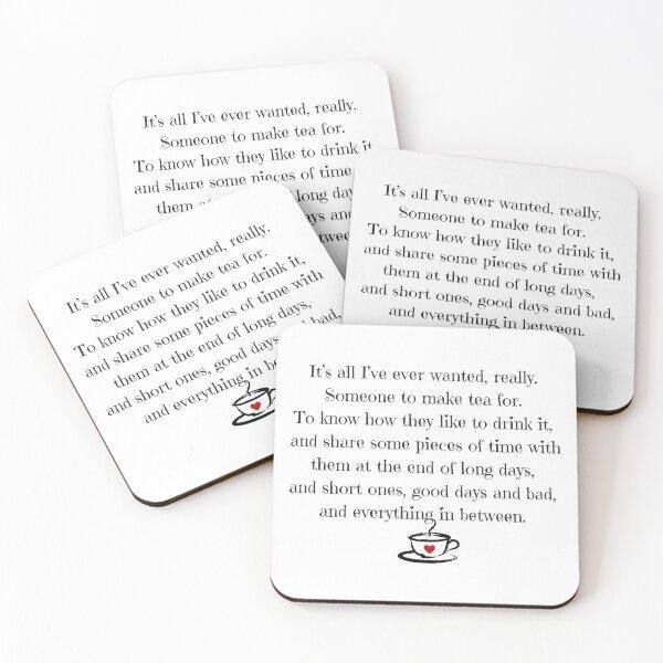 Tea Coasters (Set of 4)
