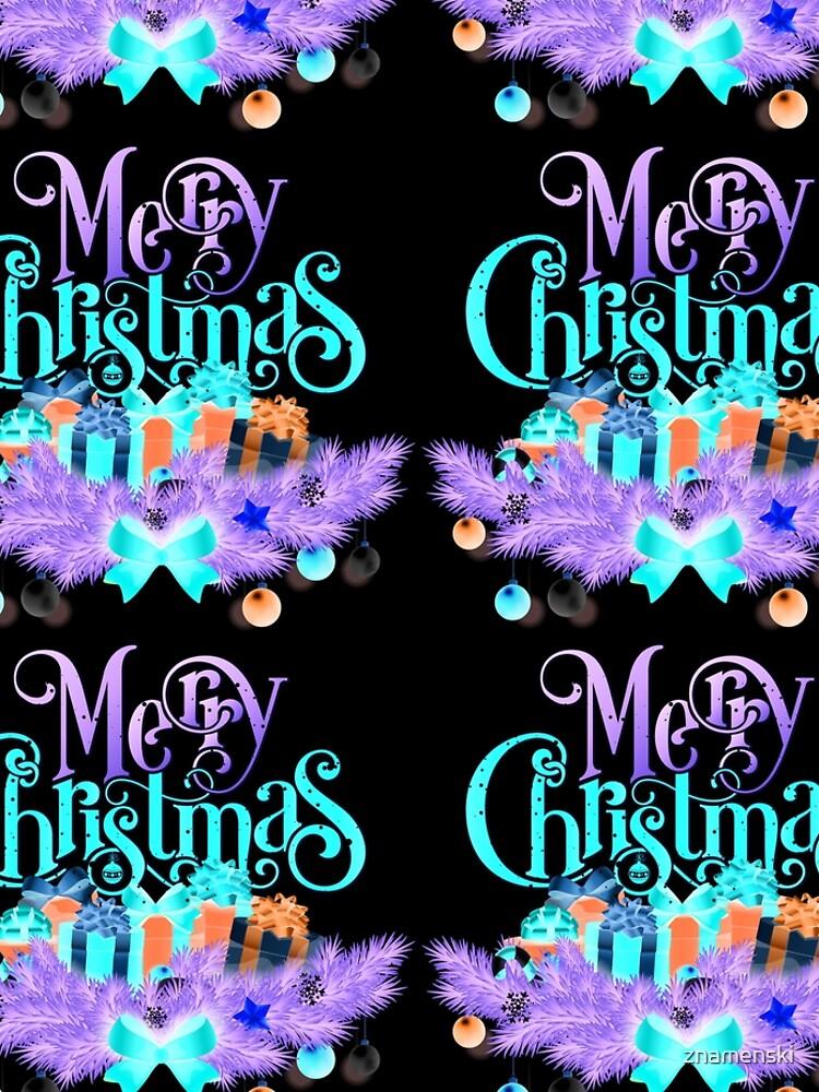 Merry Christmas by znamenski