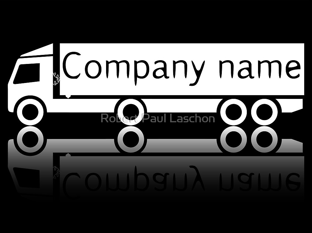 Company truck design by Laschon Robert Paul