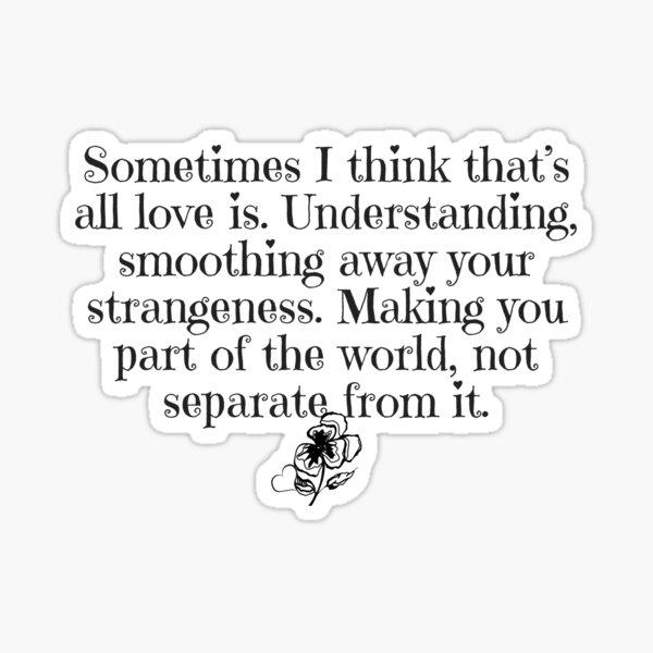 All Love Is Sticker