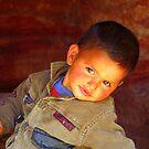 A Jordanian Boy  by Brian Bo Mei