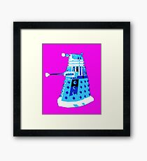 DALEK FROM DOCTOR WHO Framed Print