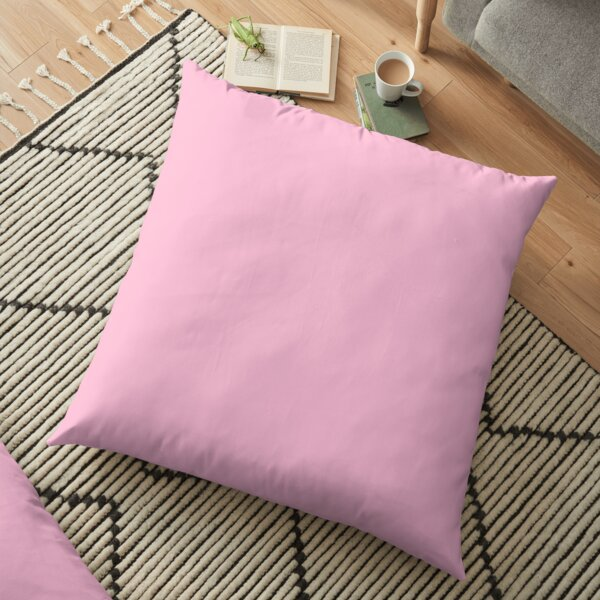 SOLID   PLAIN   PINK COTTON CANDY   OVER 100 SHADES OF PINK  ON OZCUSHIONS Floor Pillow