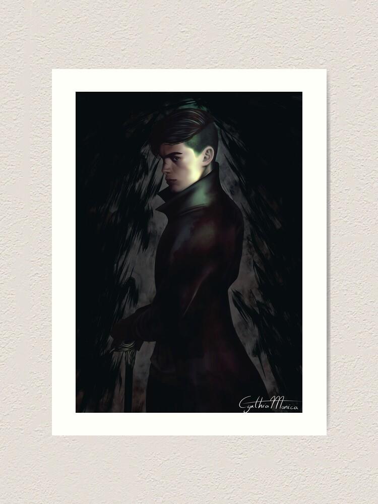 Alternate view of Kaz Brekker - Six of Crows Art Print