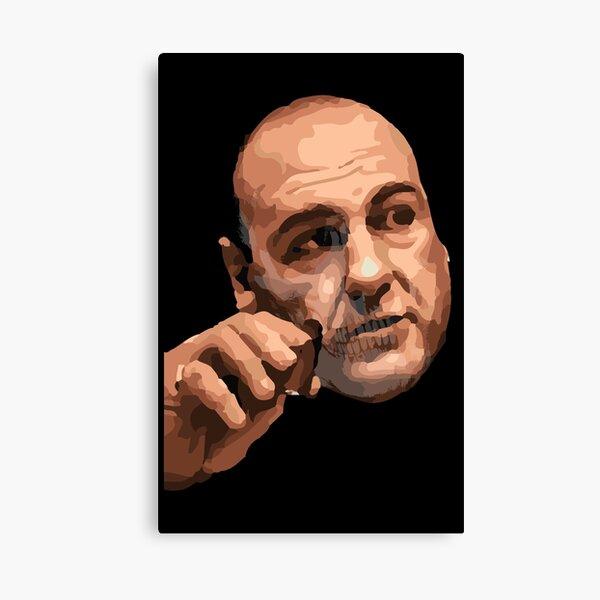 Tony Soprano - Sopranos Skull - Smoking Stogie Canvas Print