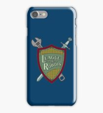League Of Robots! iPhone Case/Skin