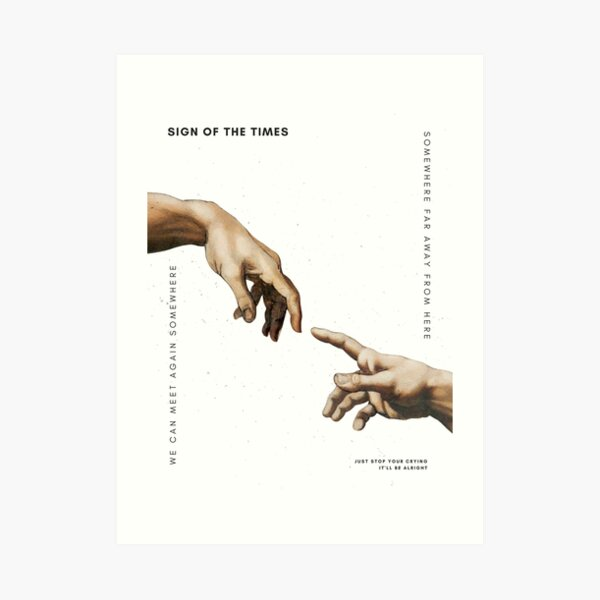 Sign of the Times - Harry Styles Art Print
