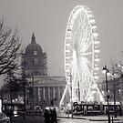 Nottingham Square Big Wheel by Richard Jackson