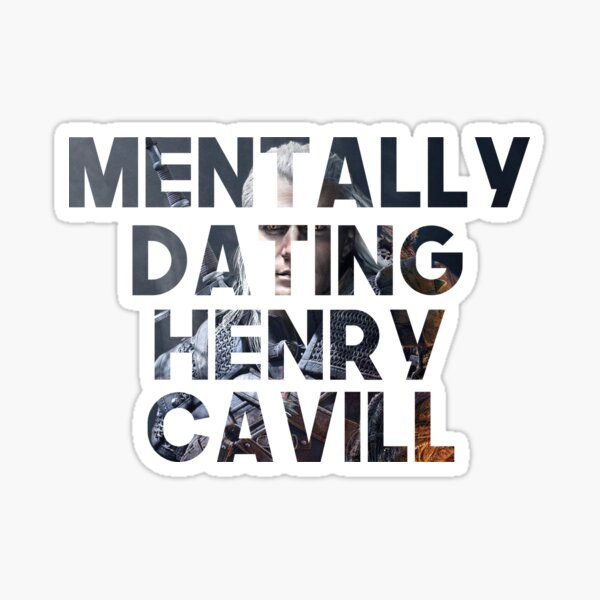 Rencontres mentales Henry Cavill Sticker