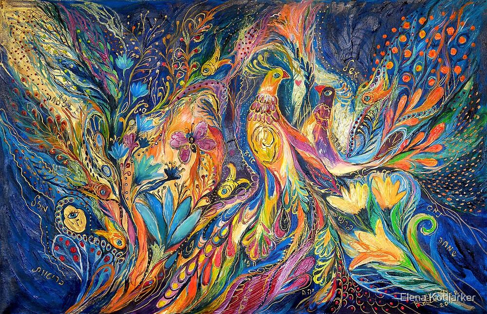 The Dance of Oranges by Elena Kotliarker