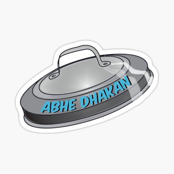 Abhe Dhakan Sticker