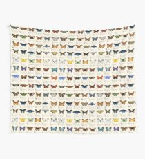 Butterflies of North America Tapestry