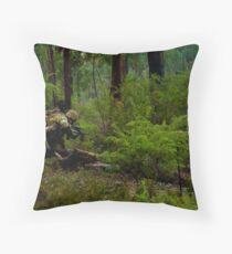 My Green Life - The Monkey Crawl Throw Pillow