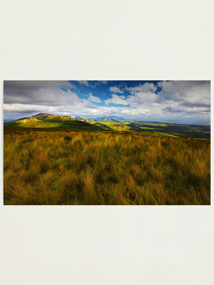 Alternate view of Mt. Tanner Lookout - Flinders Island Photographic Print