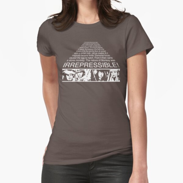 IRREPRESSIBLE Fitted T-Shirt