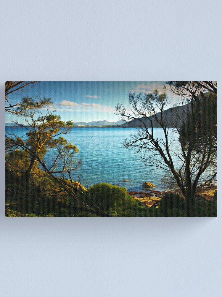 Alternate view of Sunrise - Fotheringate Bay - Flinders Island Canvas Print