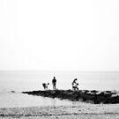 Open Ocean by Allison  Flores