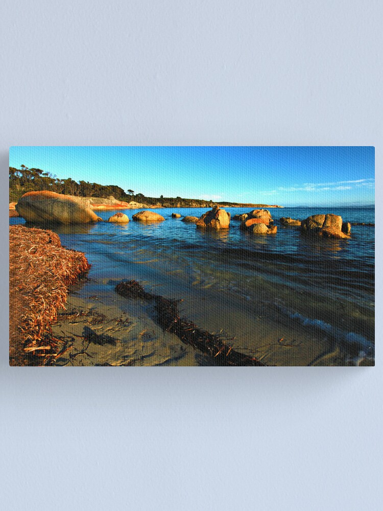 Alternate view of Sunrise - Fotheringate Bay - Flinders Isand Canvas Print