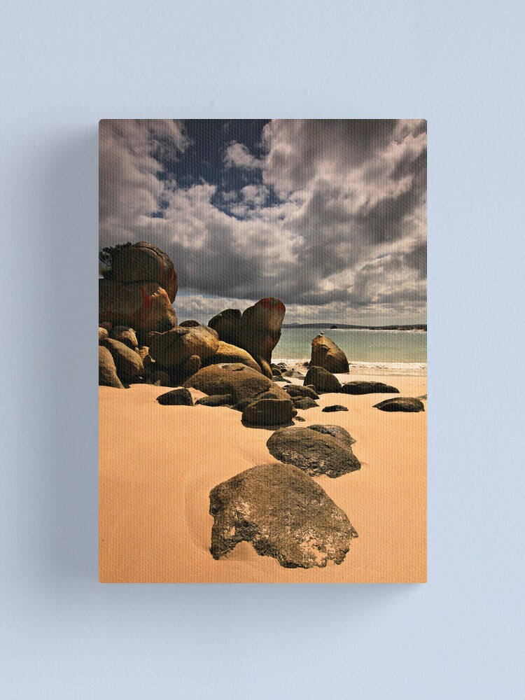 Alternate view of Golden Sands - Flinders Island Canvas Print