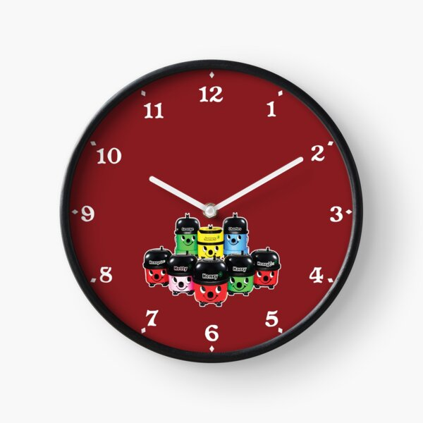 Henry Hoover and Friends Clock Clock