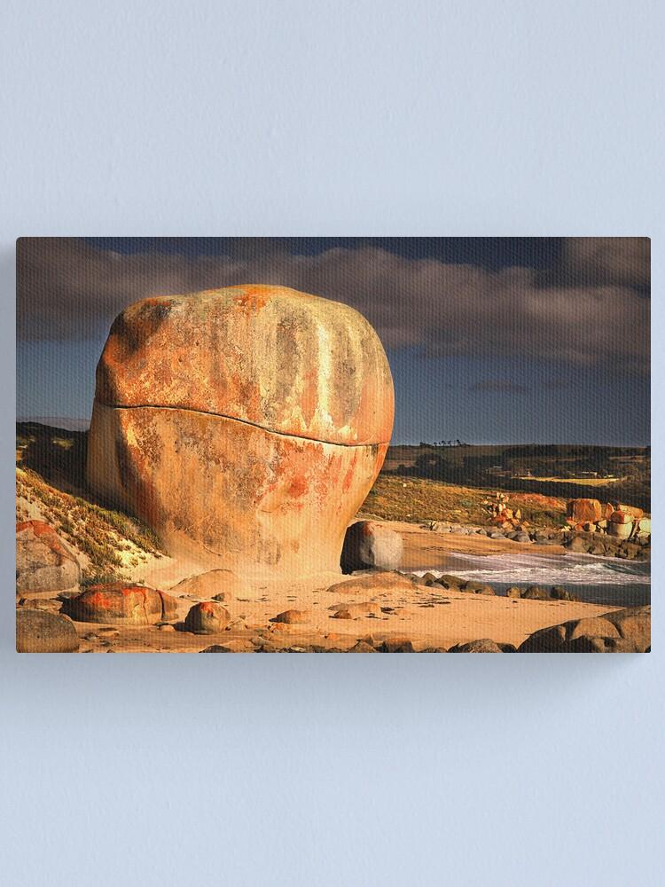 Alternate view of Castle Rock - Flinders Island, Tasmania Canvas Print