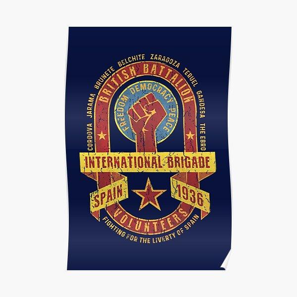 International Brigade - British Battalion Poster