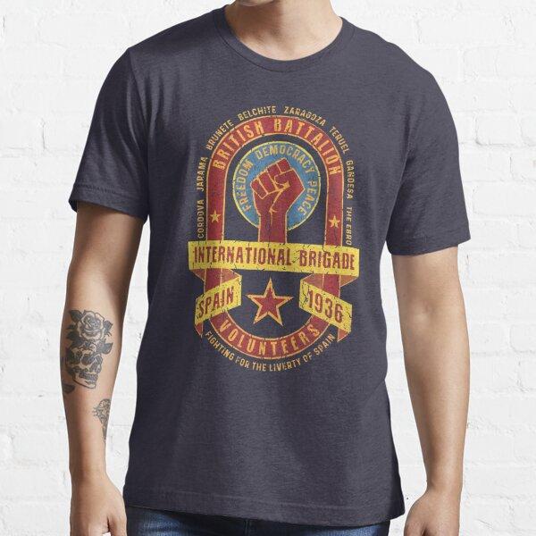 International Brigade - British Battalion Essential T-Shirt
